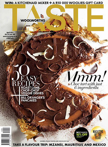 Caramel and peanut butter chocolate tart | Woolworths.co.za