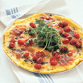 Polenta pizzas with mozzarella, baby tomatoes and rocket | Woolworths ...