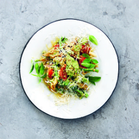 Tenderstem broccoli pesto with gluten-free penne ...