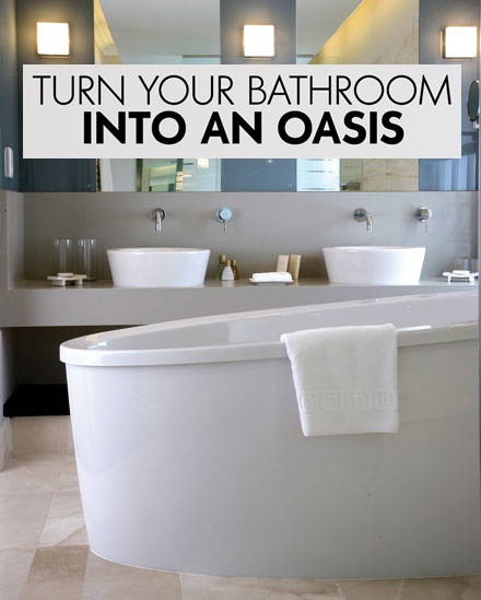 Turn your bathroom into an oasis for Turn your shower into a spa
