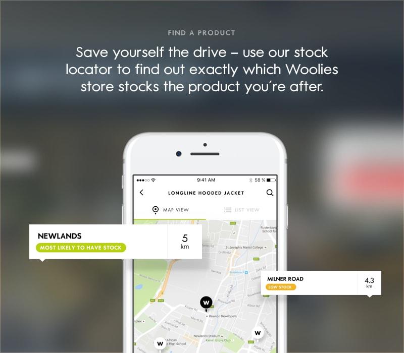 Get the new Woolies app