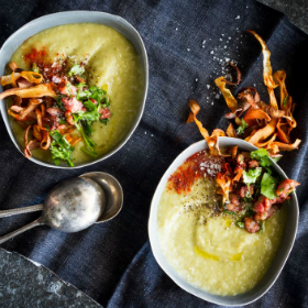 Parsnip Soup With Leeks And Parsley Recipes — Dishmaps