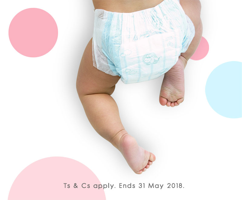 win nappies for a year banner 2