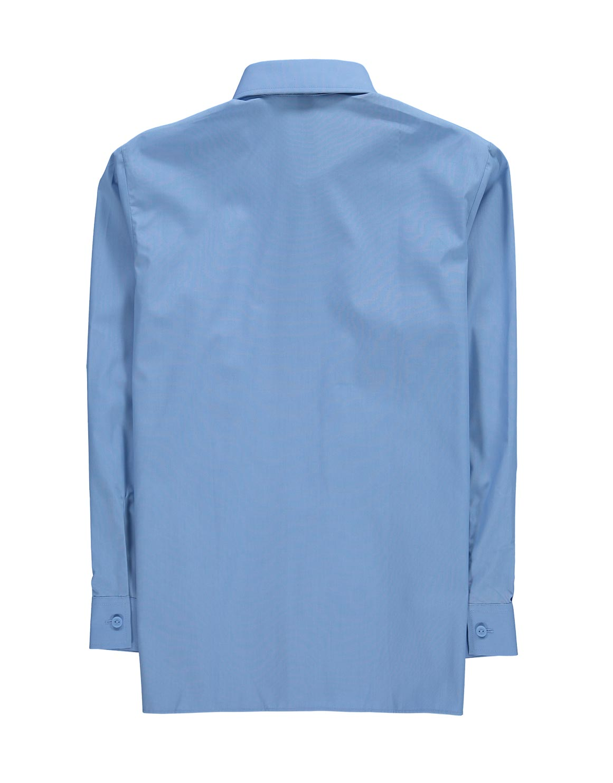4627454e4ed1b8 Long Sleeve Blue School Shirt | Woolworths.co.za