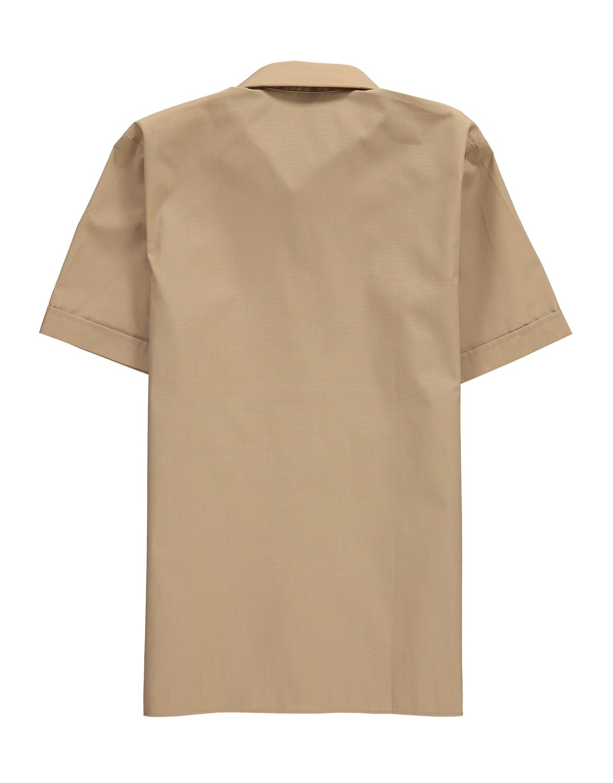 62233e80 Short Sleeve Khaki School Shirt   Woolworths.co.za