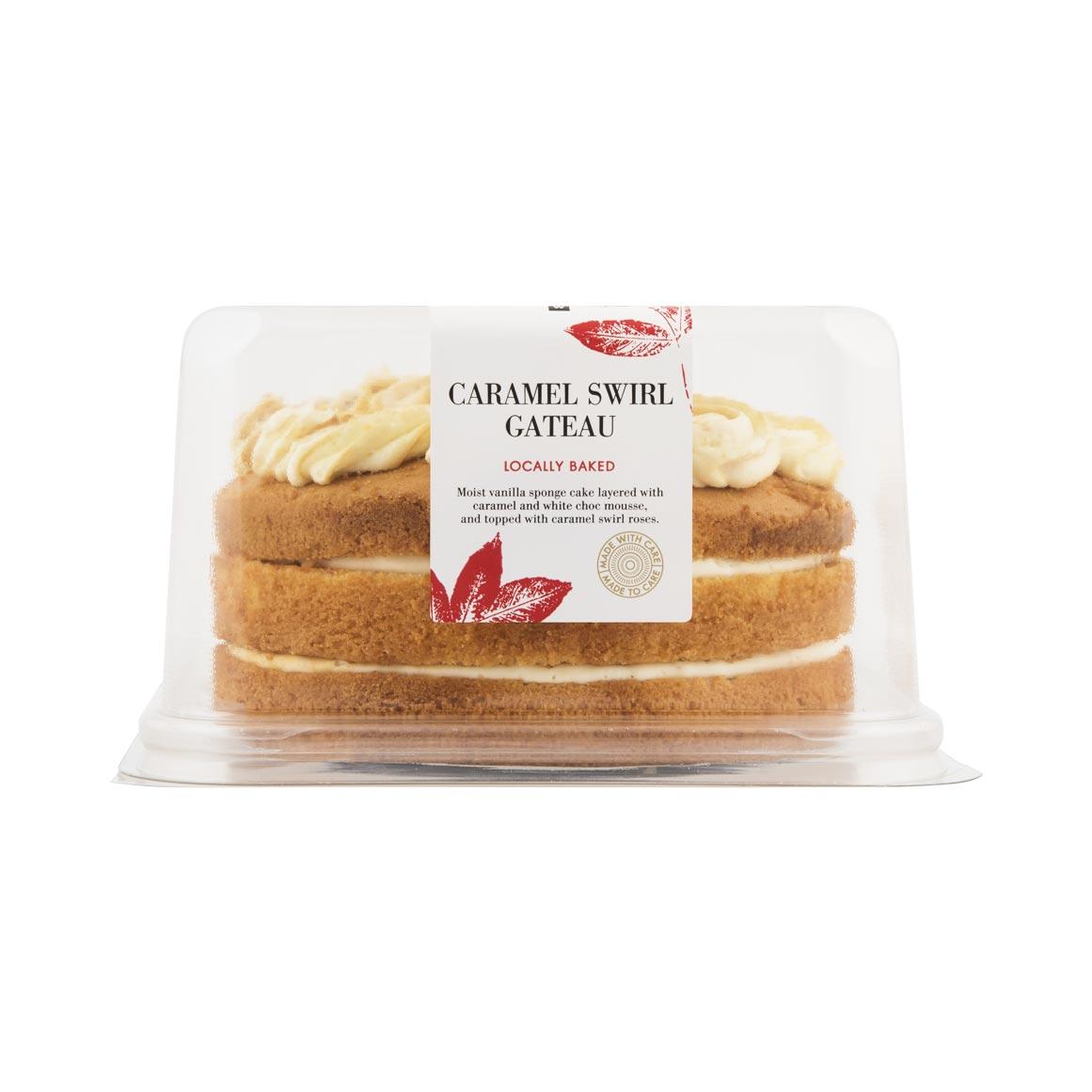 cc20037039 Caramel Swirl Gateau Cake 1Kg