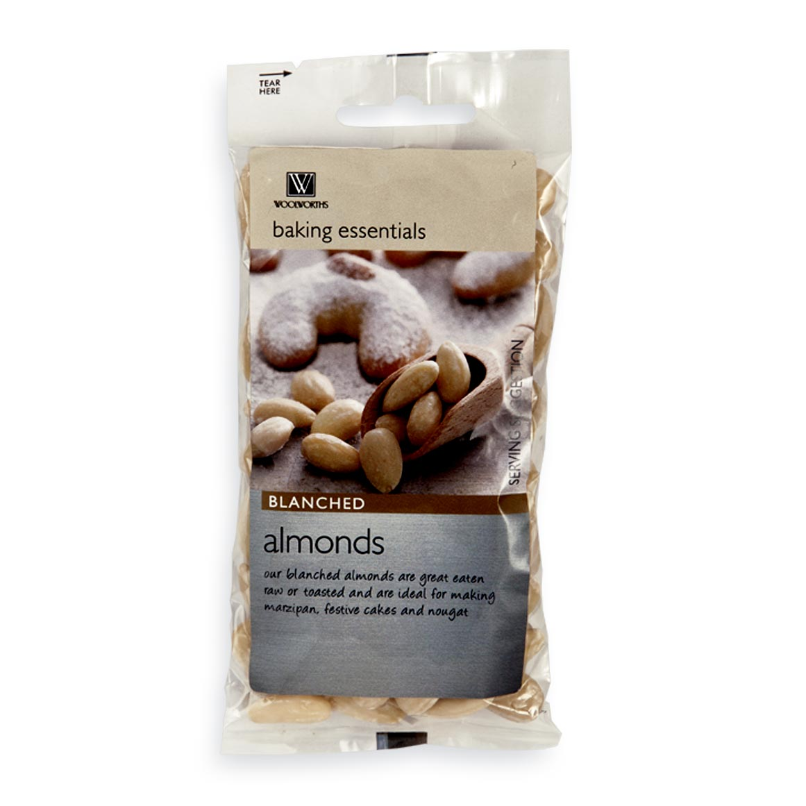 Blanched Almond Nuts 100g | Woolworths co za