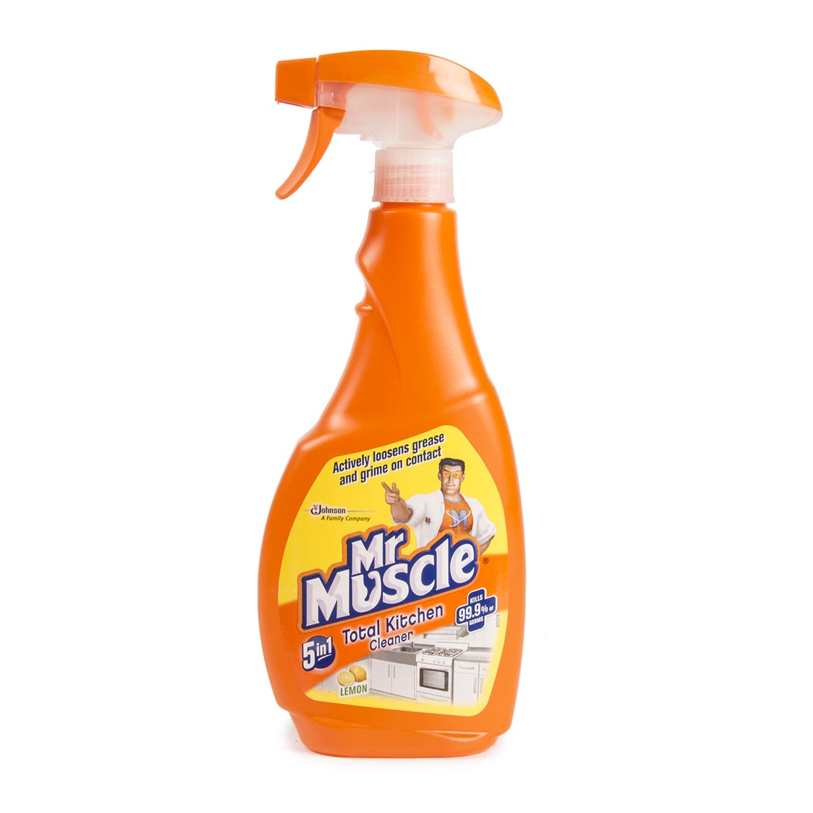 Mr Muscle 5 In 1 Lemon Kitchen Cleaner 500ml Woolworths Co Za