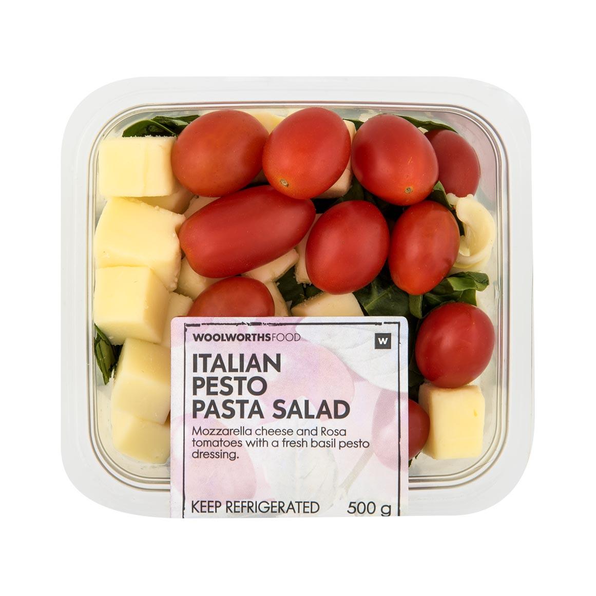Italian Pesto Pasta Salad 500g Woolworths Co Za