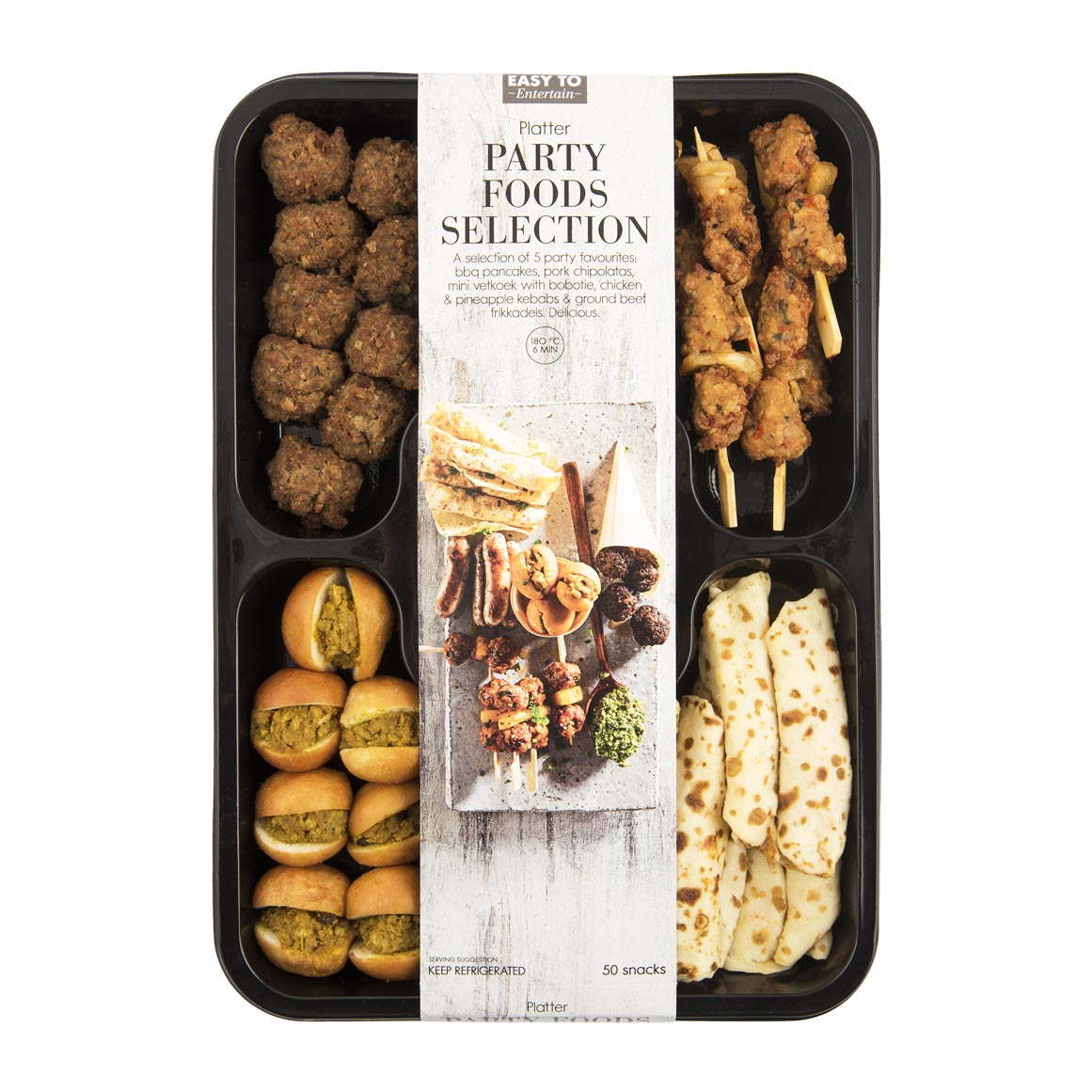 Party Foods Selection Platter 50pk Woolworths Co Za