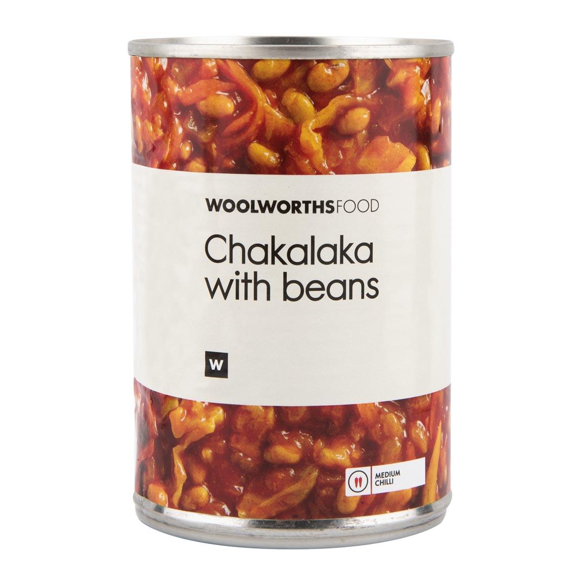 Chakalaka With Beans 410g Woolworths Co Za