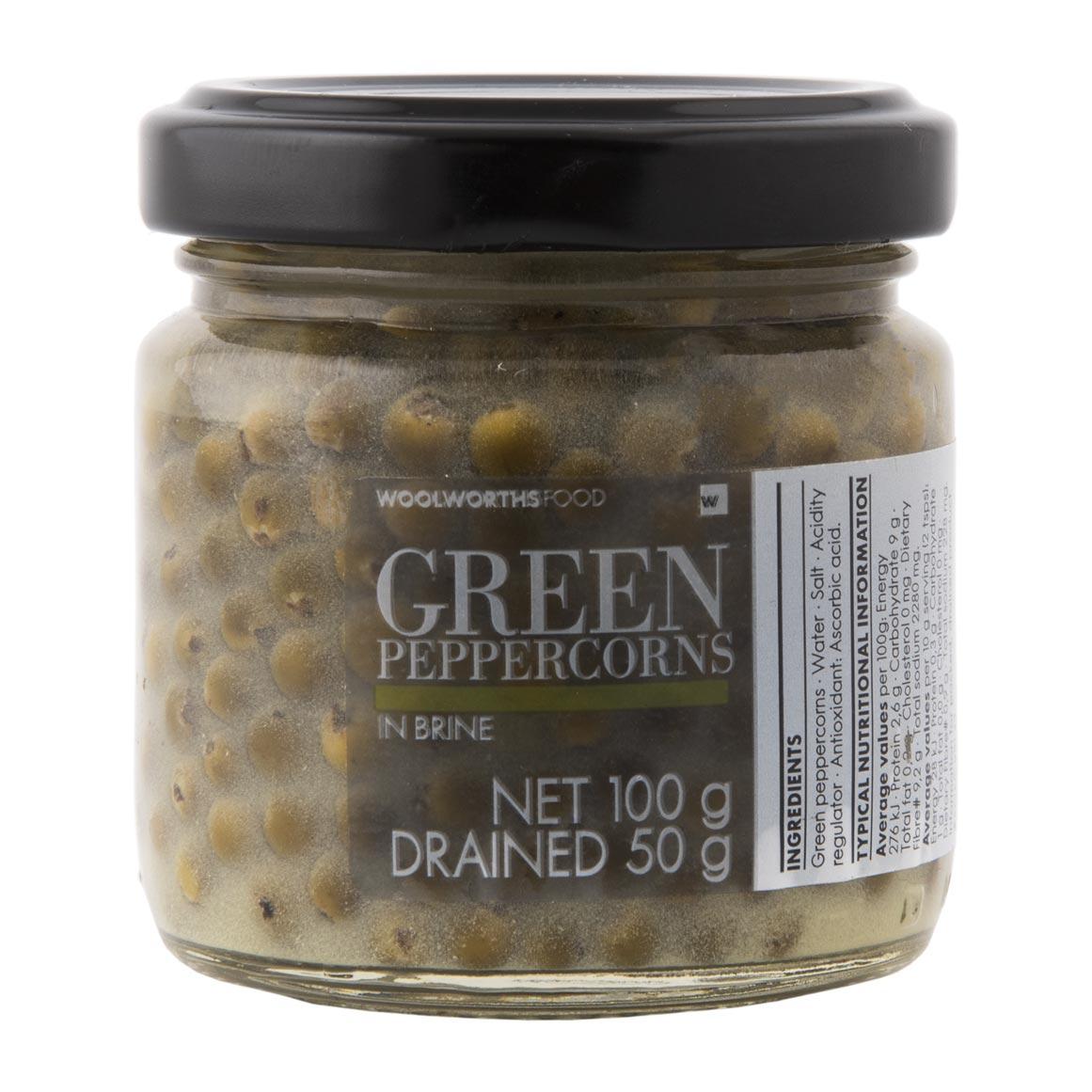 Rib Eye Steak With Green Peppercorn Sauce Woolworths Co Za