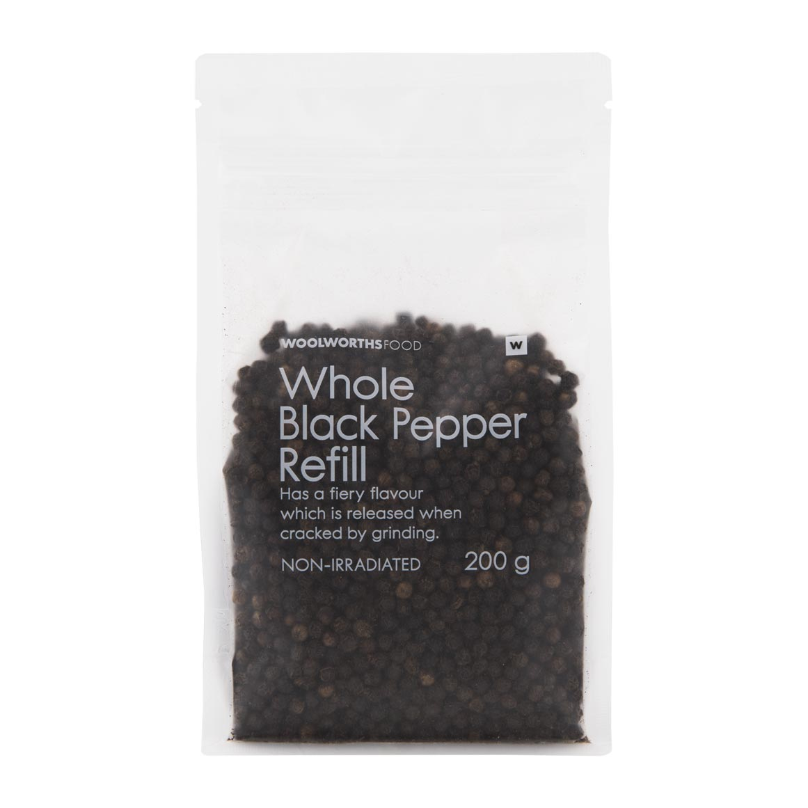 Whole Black Pepper Refill 200g Woolworths Co Za