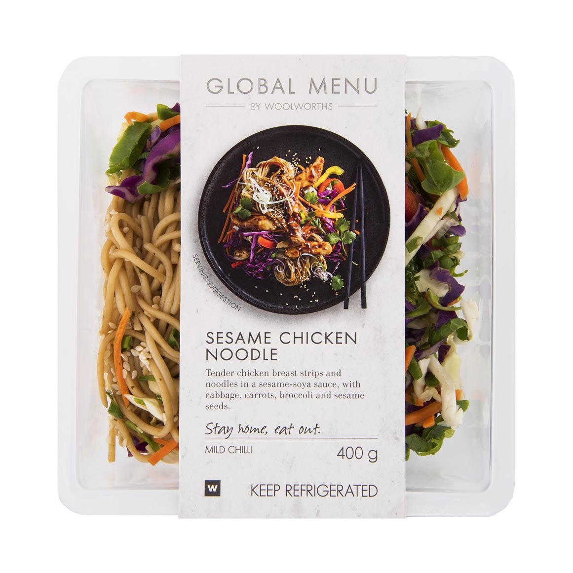 Sesame Chicken Noodle 400g Woolworths Co Za