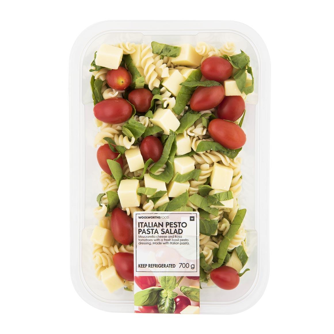Italian Pesto Pasta Salad 700g Woolworths Co Za