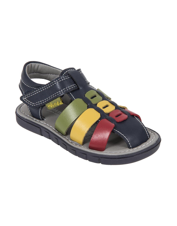 Multi-colour Closed Toe Sandals (Size 4