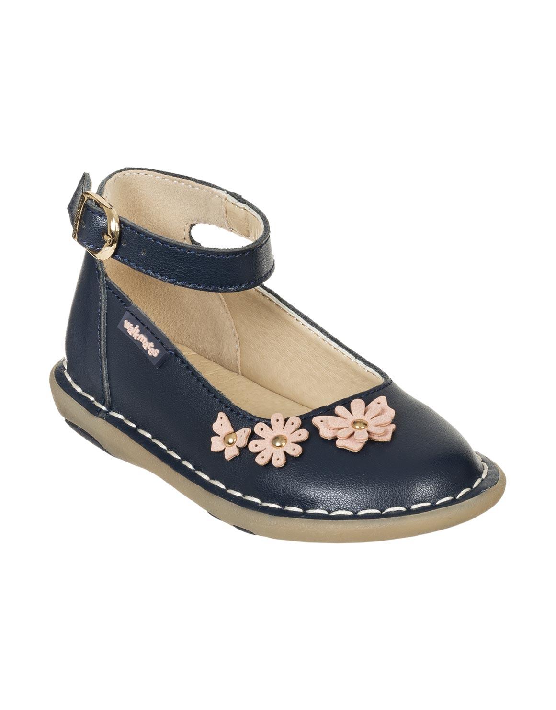 Floral Ankle Strap Shoes (Size 4-13