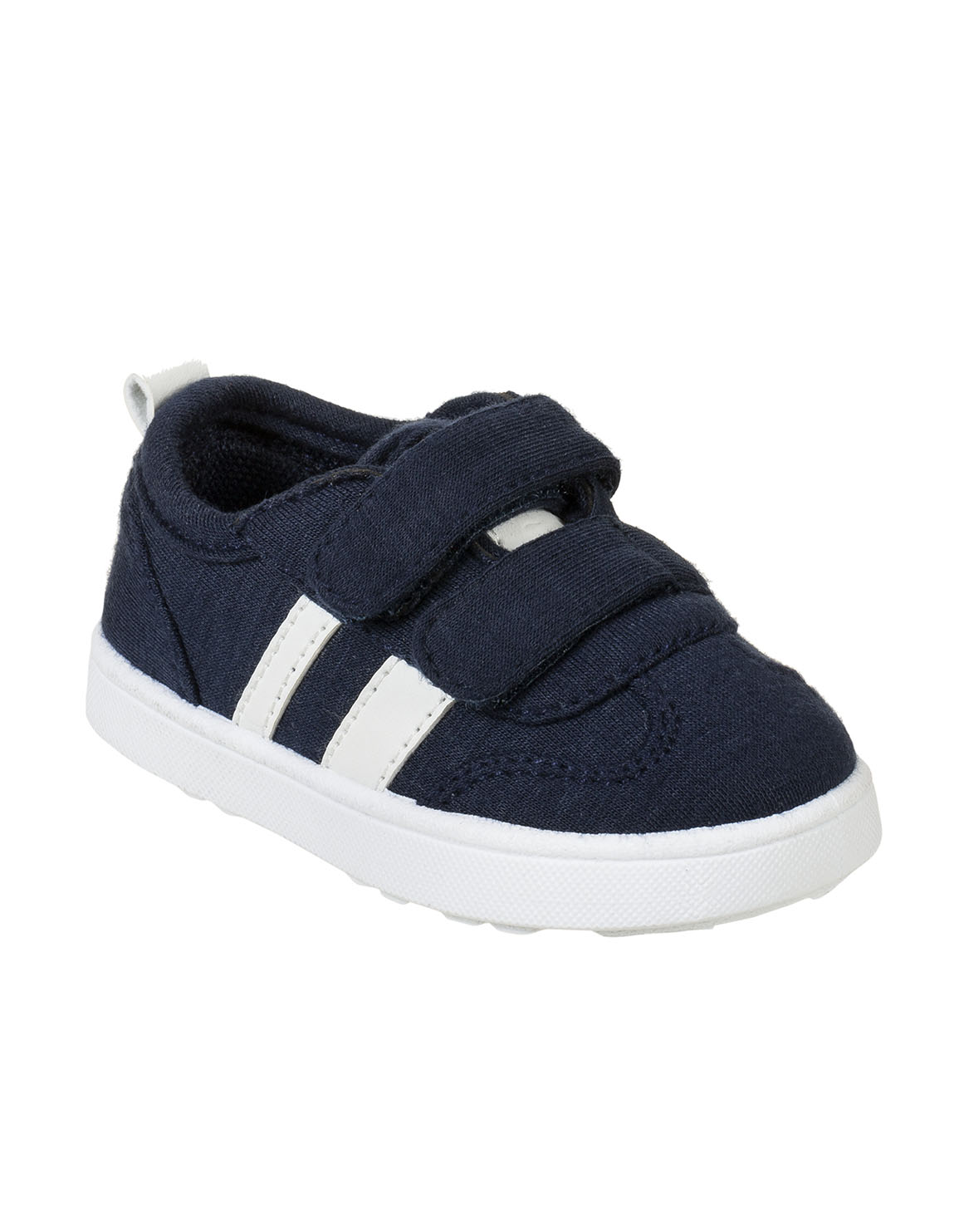 Striped Double Velcro Sneakers